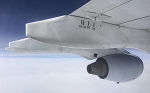 Airplane Engine and Wing