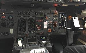 Cockpit, inside