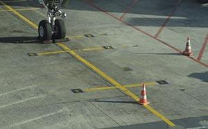 Plane and Runway Cones